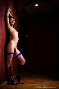 nude asian shemale in handcuffs